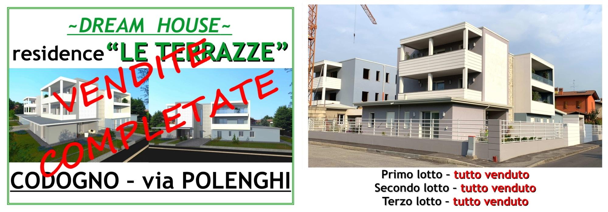 """VIA POLENGHI, CODOGNO – Residence """"Le Terrazze"""" – VENDITE COMPLETATE"""
